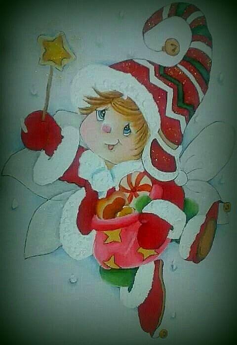 Pin de vania porto en pintura em tecido christmas - Motivos navidenos para pintar en tela ...