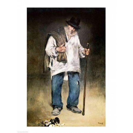 The Ragman 1869 Canvas Art - Edouard Manet (18 x 24)