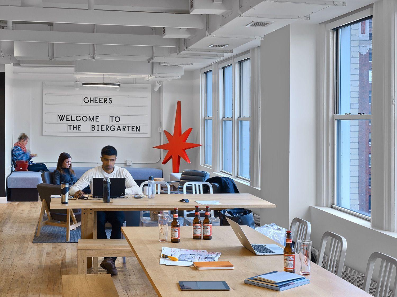 A Tour Of Anheuser Busch S New York City Office