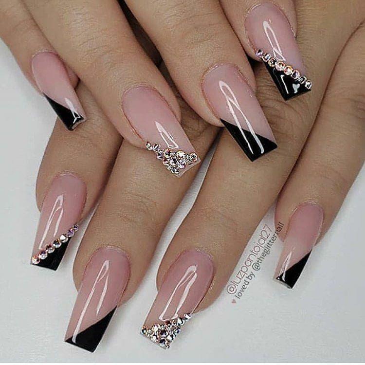 """nails on Instagram: """"° ° ° ------------------------------------------------------ #nailfeed #nailcandy #nailart #nailspolished #nailinspiration #nailsart…"""""""