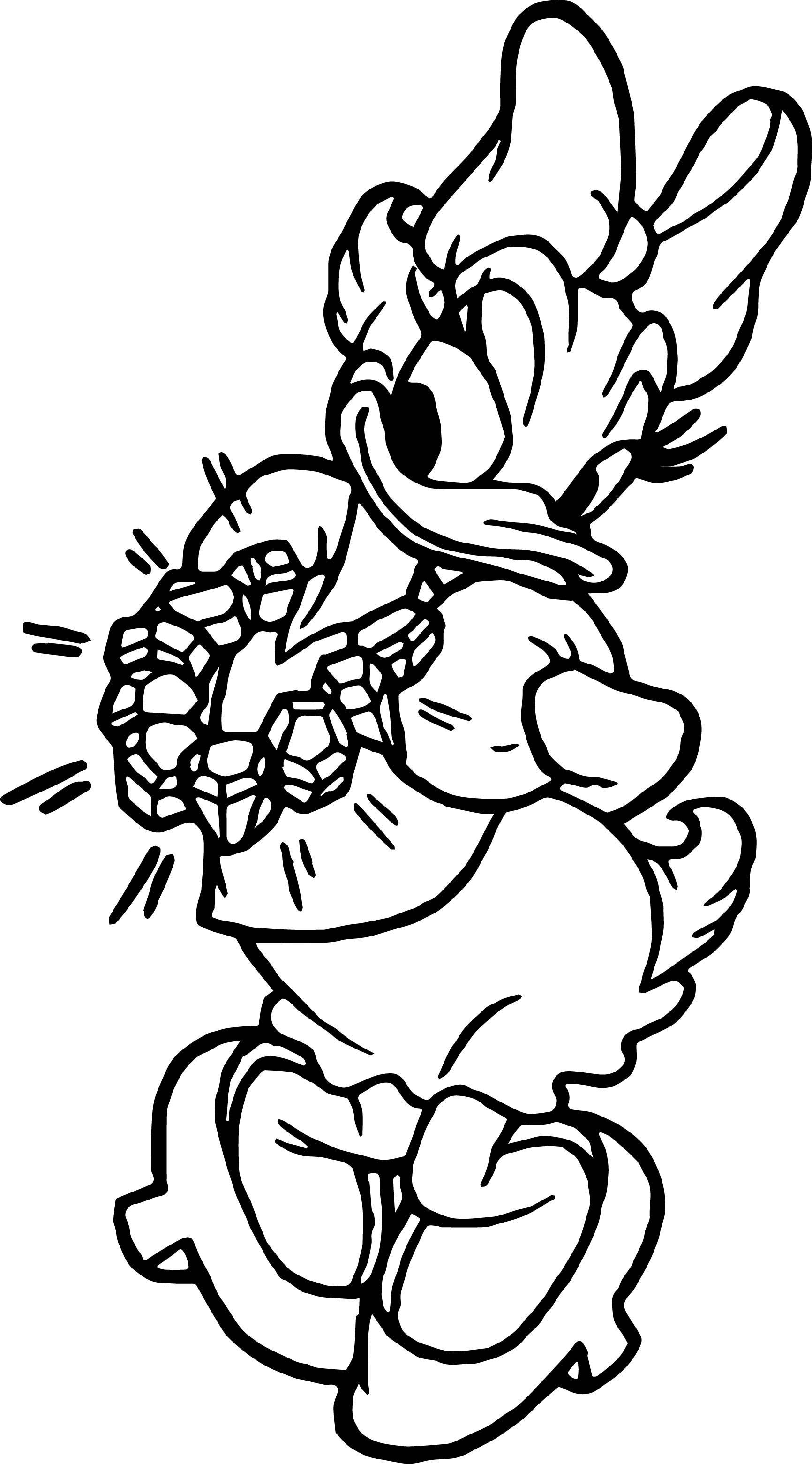 Daisy duck diamond coloring page mickey mouse pinterest