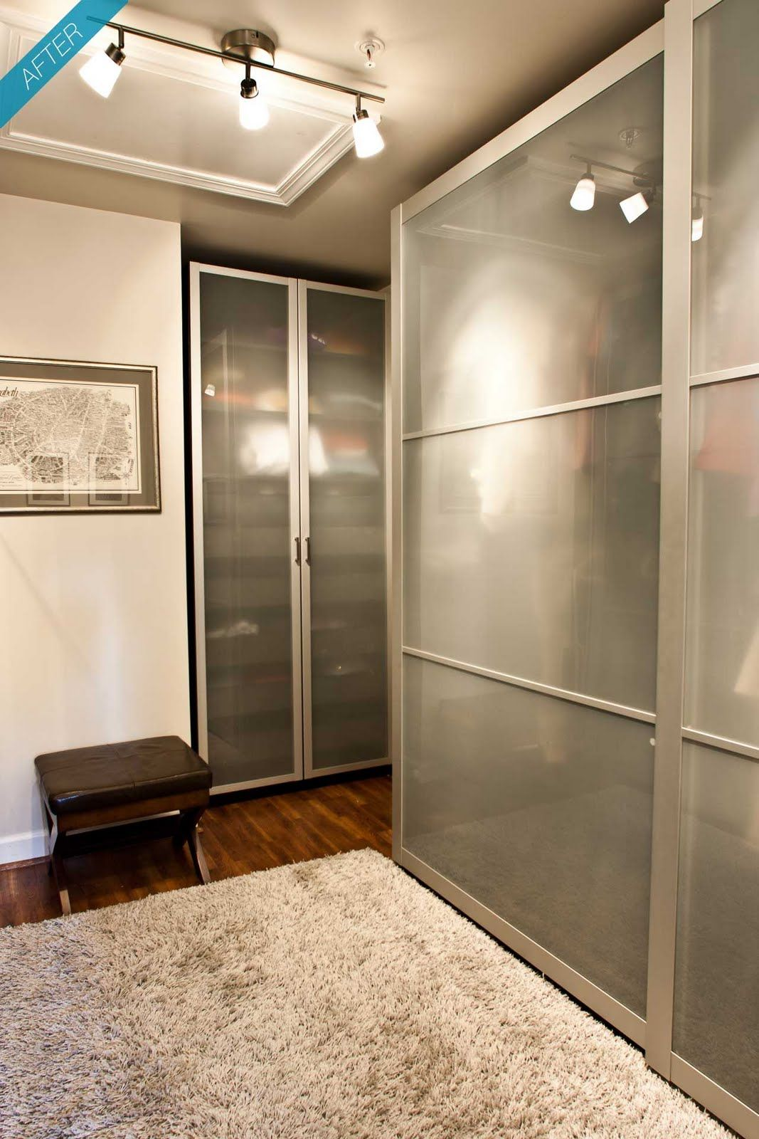 Maybe We Could Remove Our Closet Doors And Insert Ikea Wardrobes