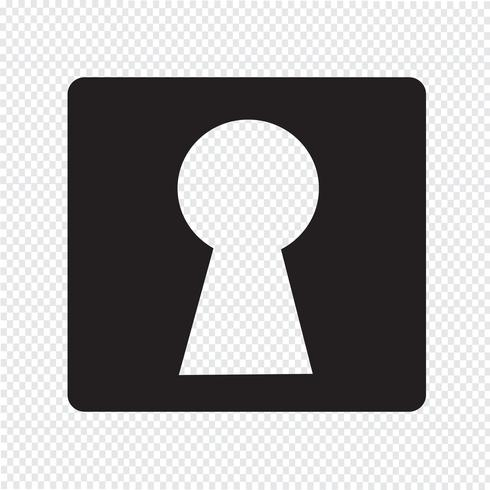 Keyhole Icon Symbol Sign Symbols Free Vector Illustration Free Vector Art