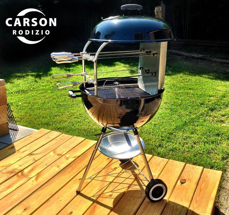 Backyard Brazilian Kettle BBQ | Kettle bbq, Charcoal grill ...