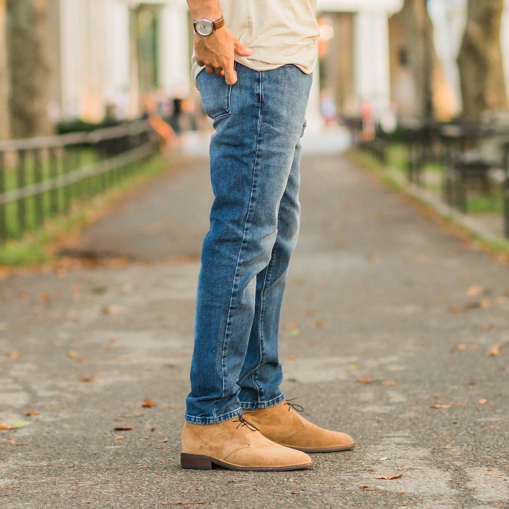 Scout | Honey Suede | Chukka boots men