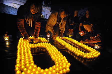 Join us in Celebrating Earth Hour 2012 March 31 at 8:30 please follow the link to find out more about getting involved.