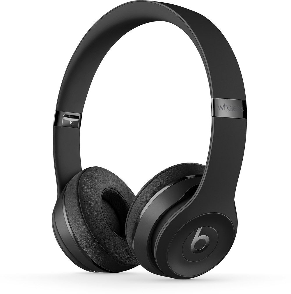 Beats By Dr Dre Solo3 Wireless Black On Ear Bluetooth Headphones With Apple W1 Chip At Crutchfield Wireless Beats Black Headphones In Ear Headphones