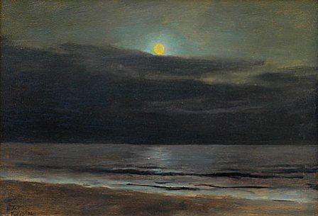 Lockwood De Forest moonlight painting