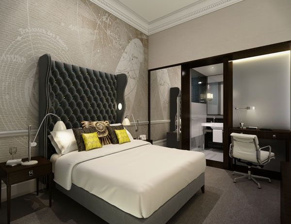 Interior Design Hotel Rooms Set Stunning Decorating Design