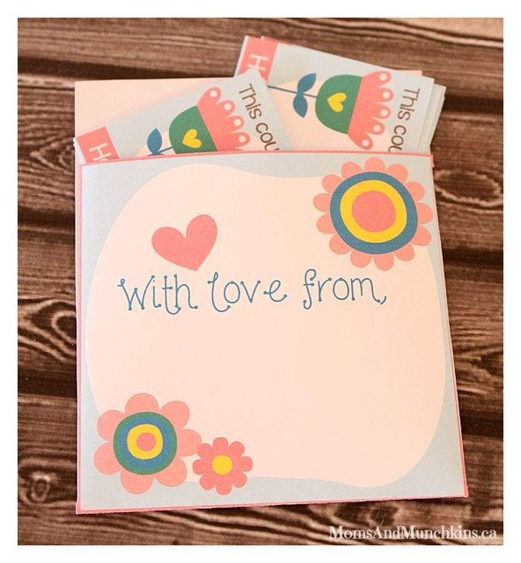 Mother S Day Coupon Books Make A Great Gift From The Heart Mother S Day Coupons Easy Diy Valentine S Day Cards Mom Coupon Book