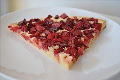 Scandi Foodie: Finnish Rhubarb Tart