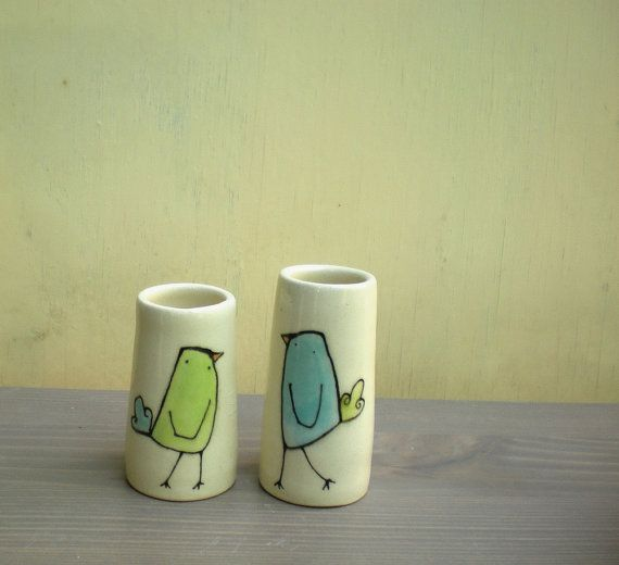 bird vases. great shop!
