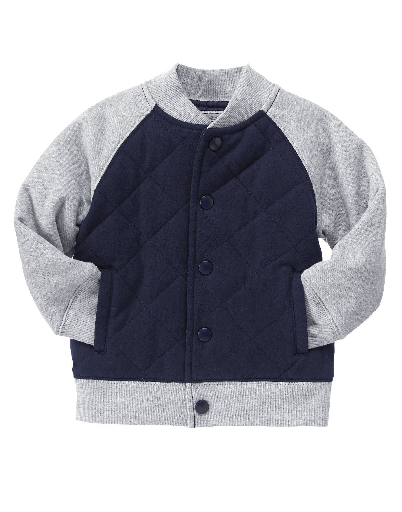 Quilted Varsity Jacket At Gymboree Everything For Boys Pinterest