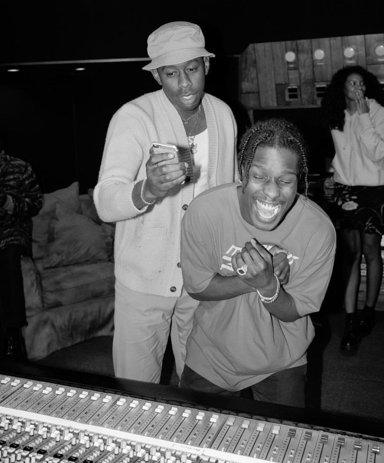 Asap Rocky Black Ink Gallery: Tyler The Creator, Tyler The