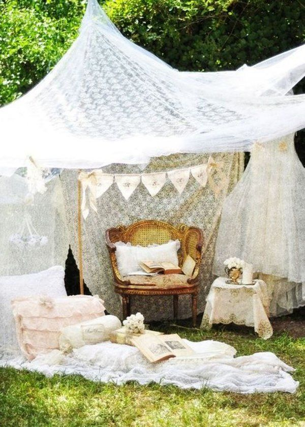Tipi et tente de jardin : nos inspirations | Tente jardin ...