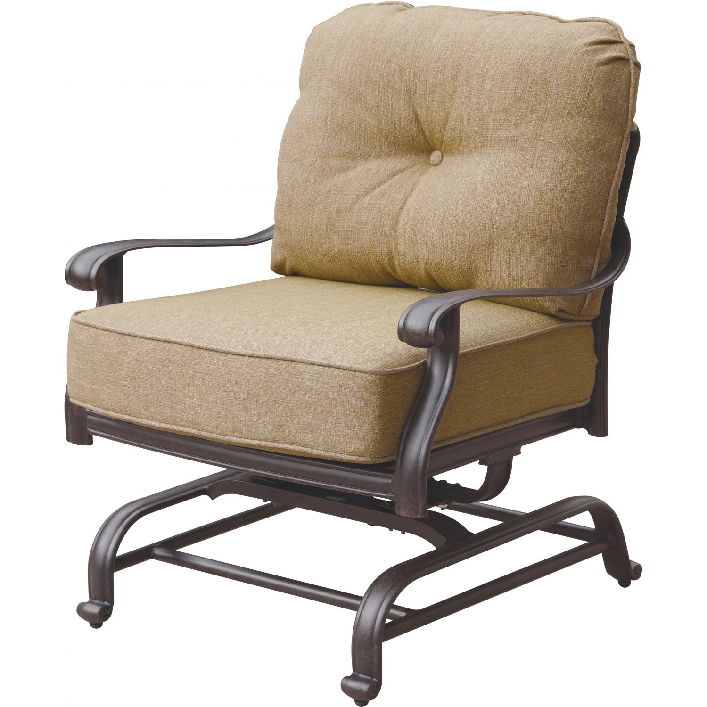 Magnificent Darlee Elisabeth Cast Aluminum Patio Spring Base Club Chair Spiritservingveterans Wood Chair Design Ideas Spiritservingveteransorg