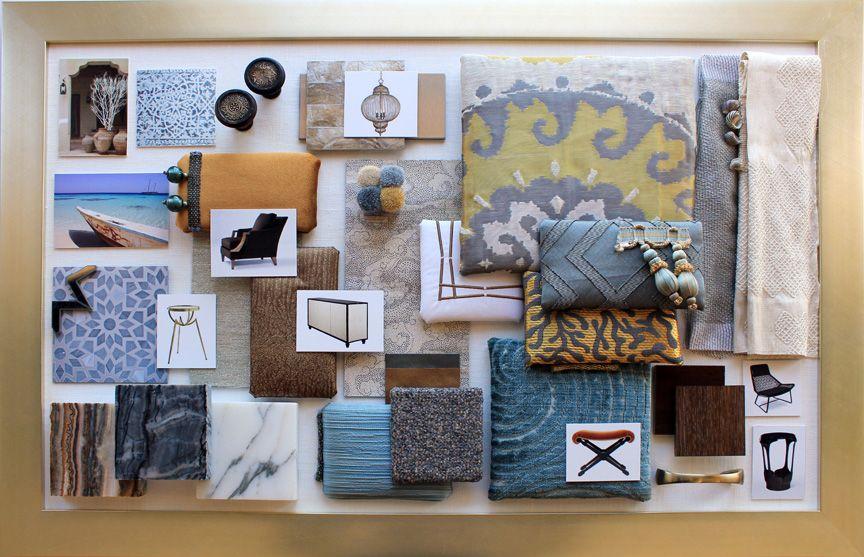 Jeddah Guestroom Colorboard Decor Inspiration Colour Board