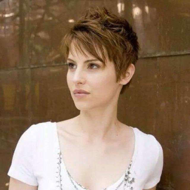 cortes de pelo corto para las mujeres con cabello fino