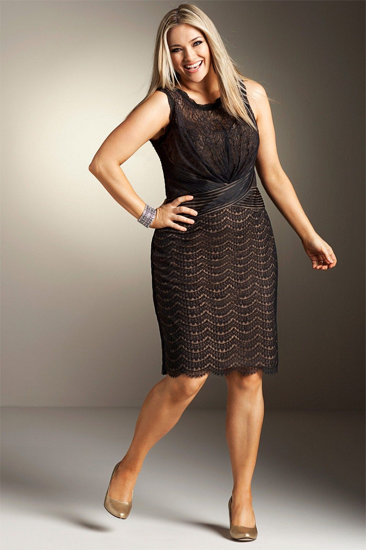 1c5cd842bad Dresses - Sara Lace Overlay Dress - EziBuy Australia  plussize   plussizefashion  WandH  westandharlow  westandharlowgirl  curvyfashion   psfashion   ...