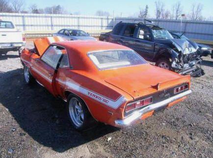 Yenko Camaro For Sale >> 1969 Chevrolet Camaro 427 Yenko Sc Collision Damage Camero