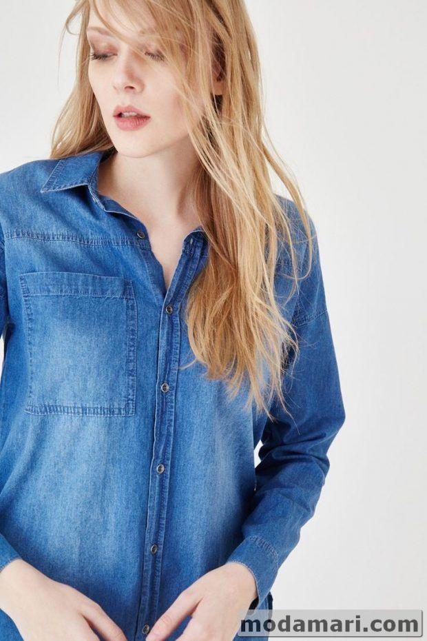 2017 Kot Gomlek Modelleri Denim Jacket Fashion Jackets