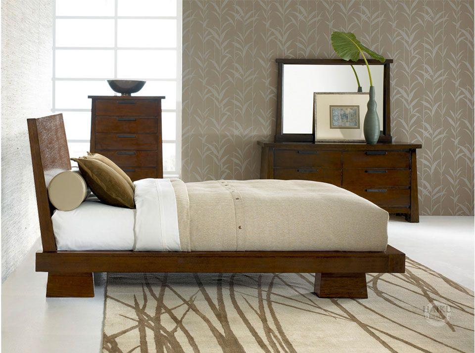 hiro bed interiors cama japonesa camas estilo zen rh pinterest es