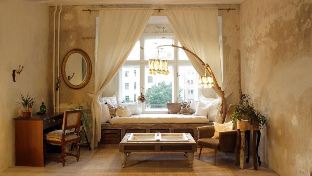 DIY-Beleuchtung aus großem Ast #DIY #Lampe #Beleuchtung #Bett - lampe für wohnzimmer