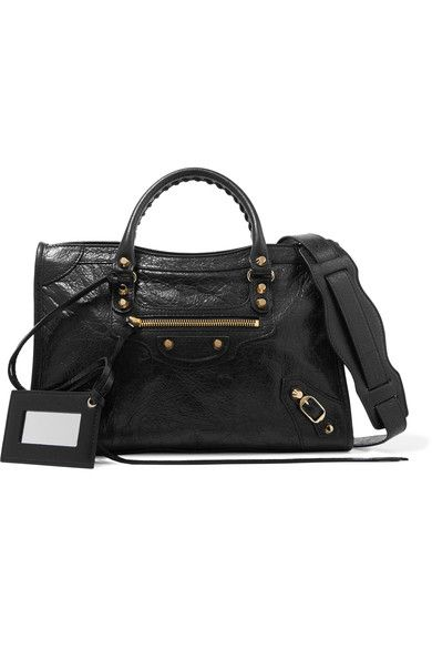 4d7a205511112 Balenciaga - Classic City Small Textured-leather Tote - Black - one size