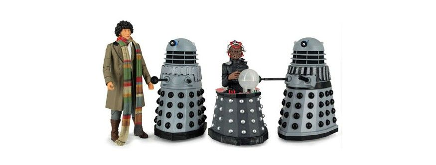 Doctor Who: Destiny of the Daleks: Action Figure Set Intergalactic on cybermen home planet, angel home planet, sontaran home planet, doctor who dalek planet, time lords the home planet,
