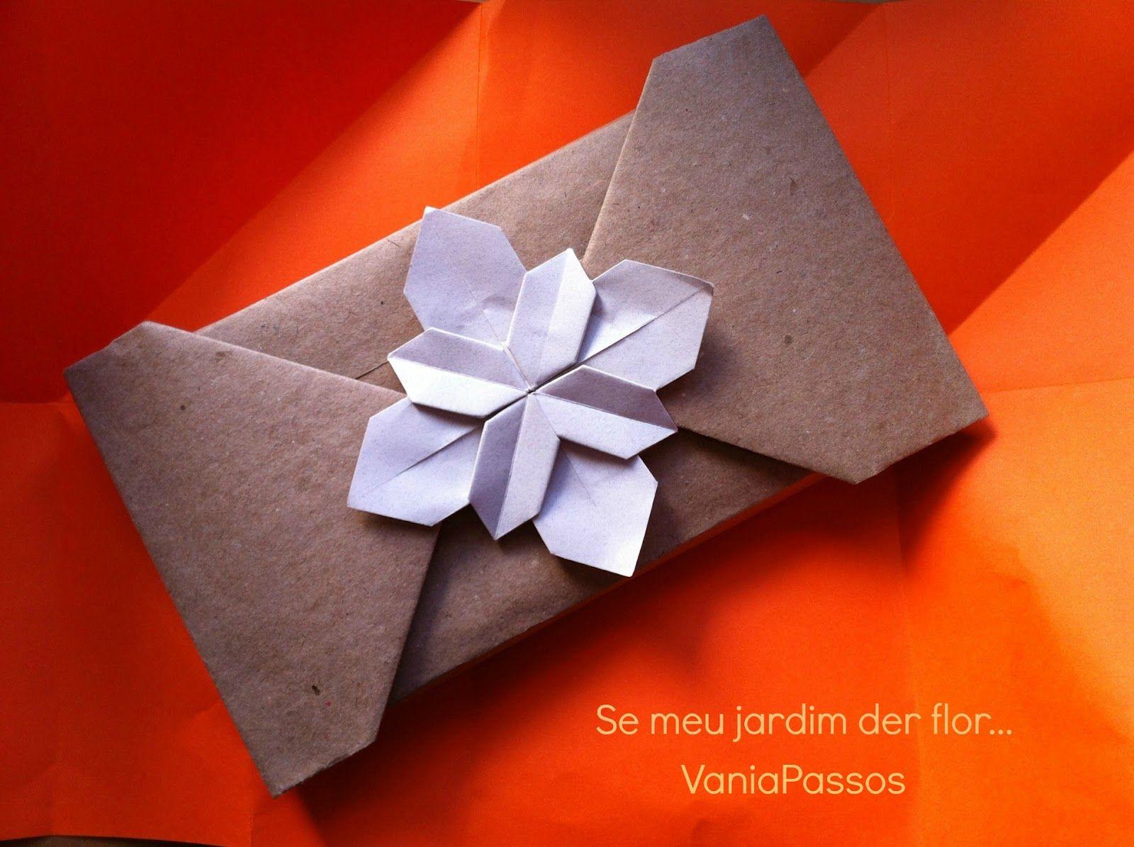 vania passos origami   SE MEU JARDIM DER FLOR...: Quando a embalagem se faz presente