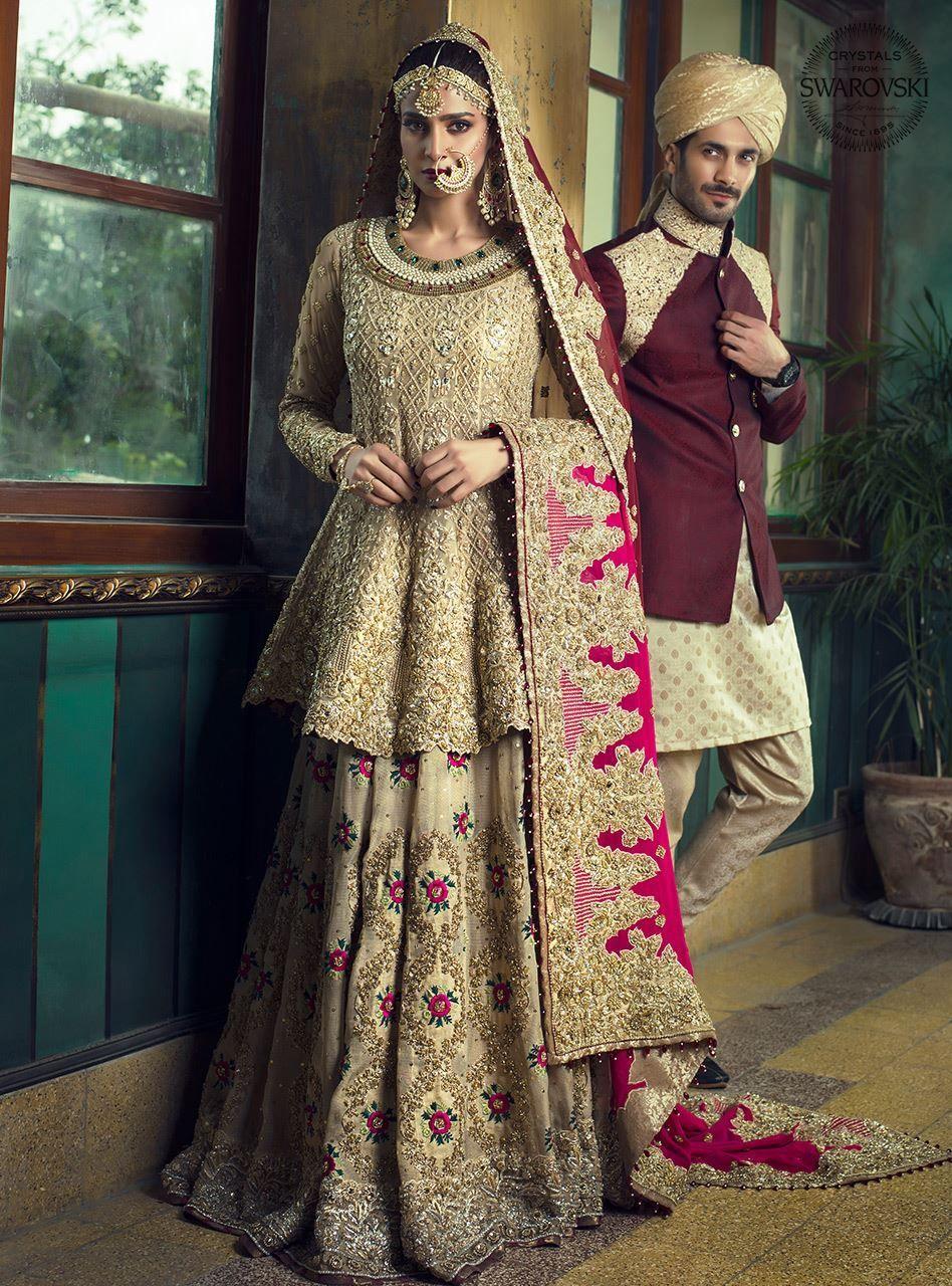 New Bridal Barat Dresses 2019 For Wedding Day Styleglow Com Pakistani Bridal Dresses Pakistani Wedding Outfits Pakistani Bridal,A Line Mermaid Wedding Dress