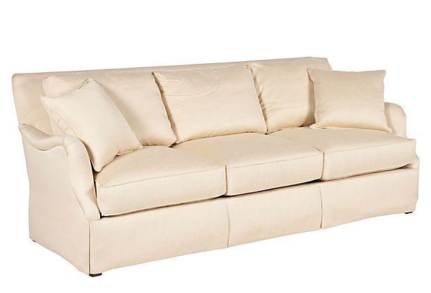 Continental Sofa, Oyster Ferguson Copeland