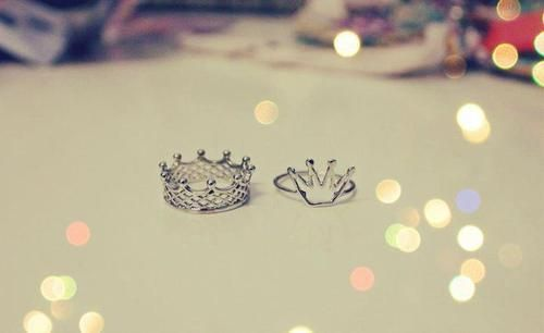 crown, girl, ring, style - inspiring picture on Favim.com