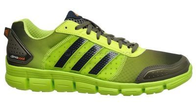 huge selection of d8b46 17a52 New Adidas ClimaCool Aerate 3 Mens Running Shoes - Neon ...
