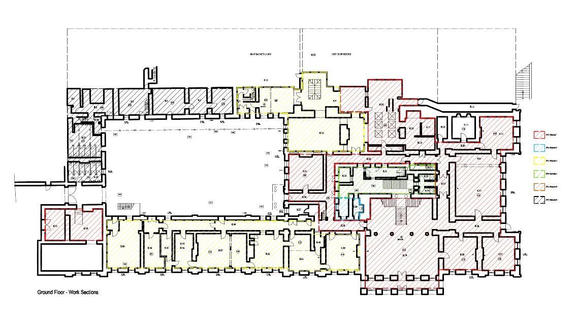 Glynllifon Caernarfon Ground Floor Plan Castle Floor Plan Floor Plans Architecture Plan