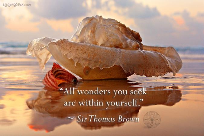 - Sir Thomas Brown