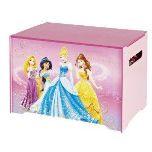Disney Princess Toy Box Amazon Co Uk Kitchen Home Disney Princess Toys Princess Toys Childrens Toy Boxes