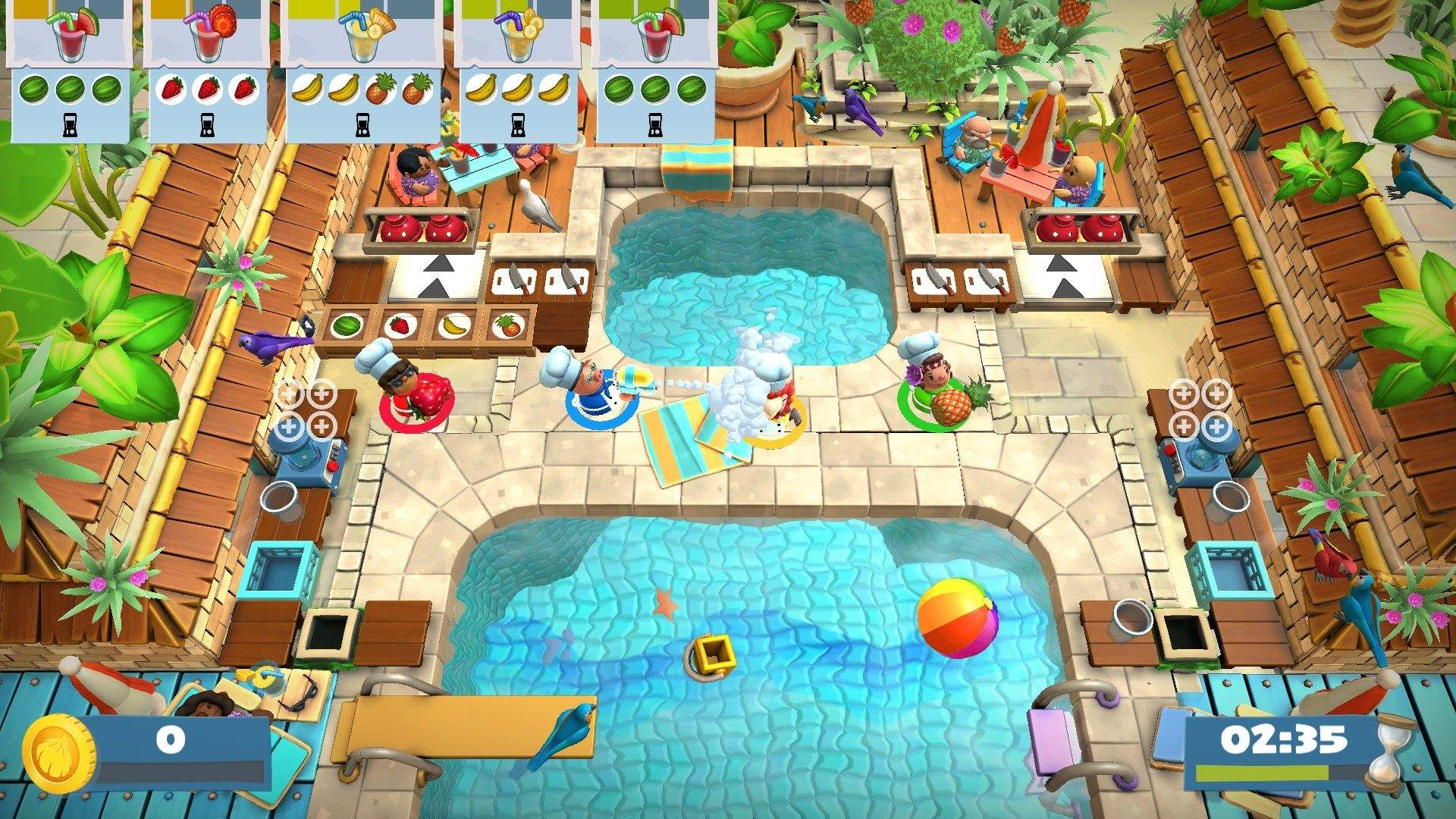 Overcooked! 2 - Surf