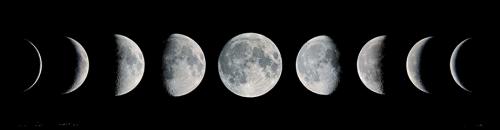 Резултат с изображение за moon phases transparent