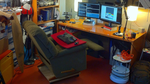 Turn a La-Z-Boy Recliner into the Ultimate Desk Chair ...