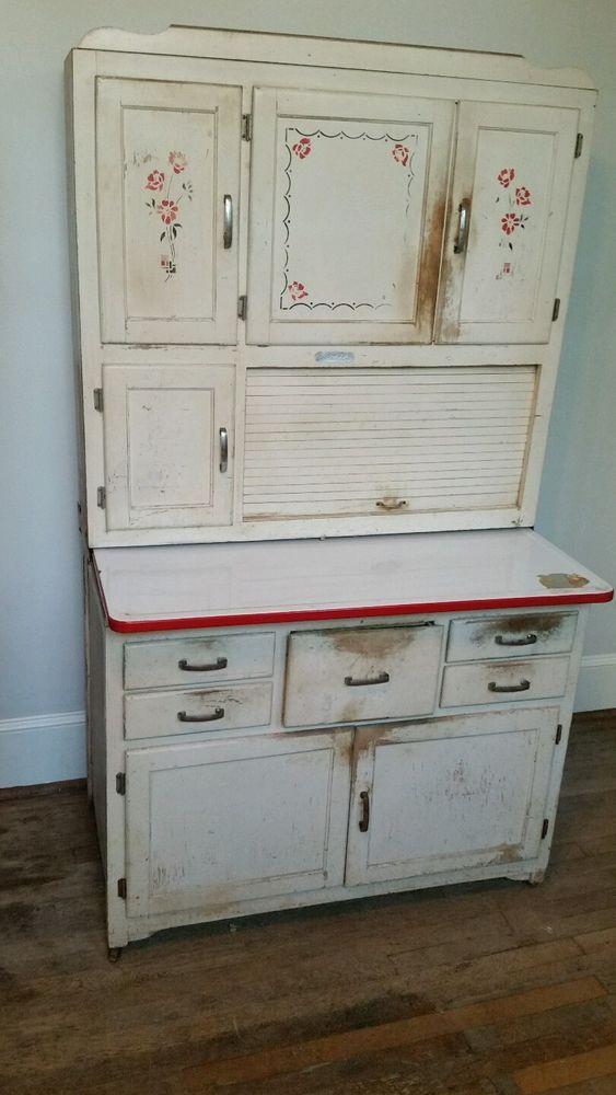 Very Nice Marsh Kitchen Cabinet Like Hoosier Amp Sellers 100
