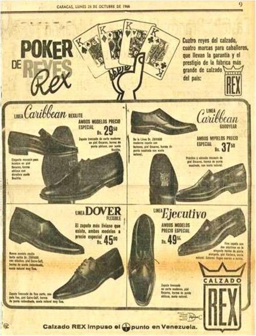 Zapatos Ofertas 1964 CaracasVenezuela De Rex Calzado fgIYyvb67