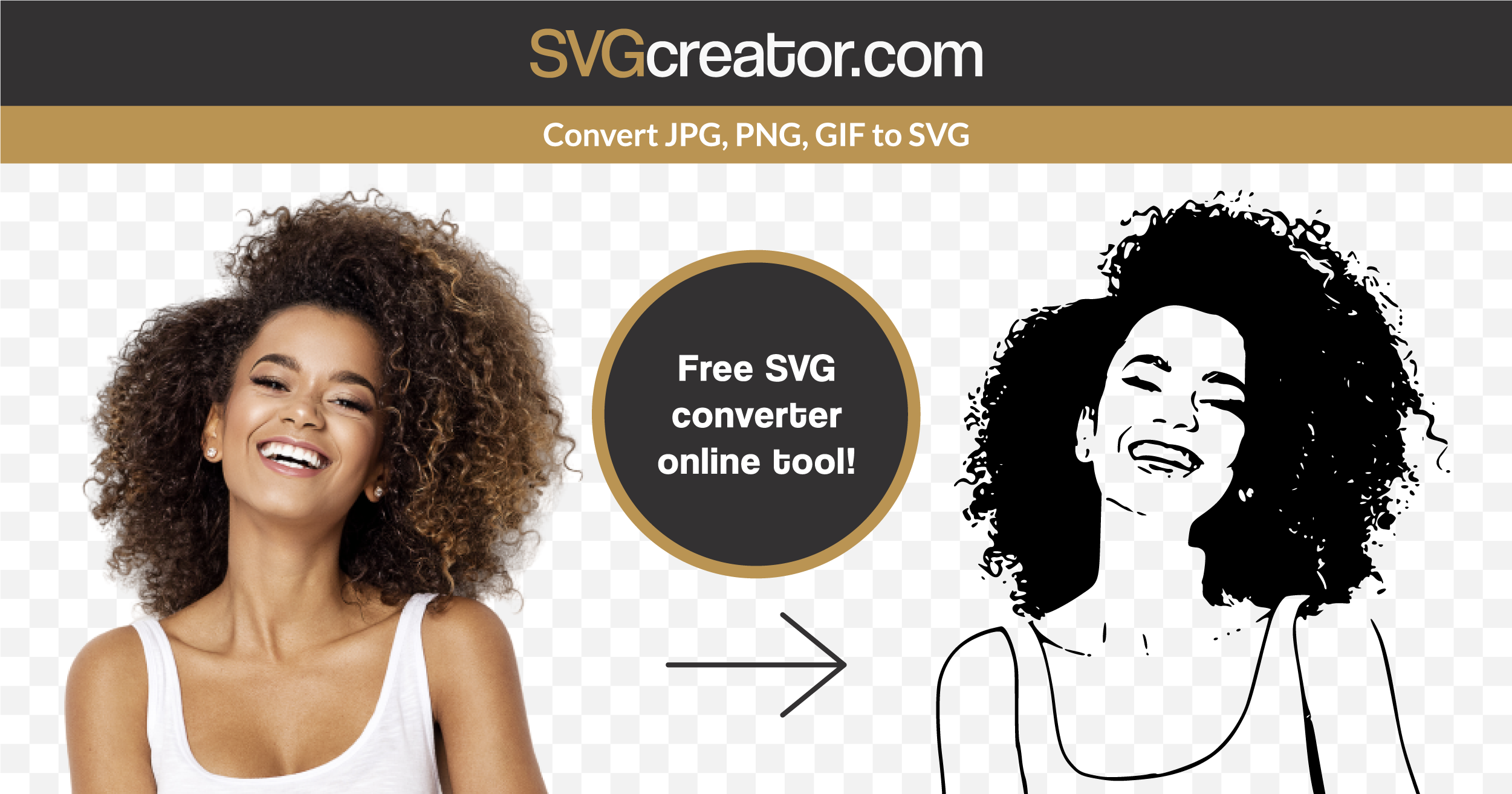 Easily convert your image to SVG in one click with this