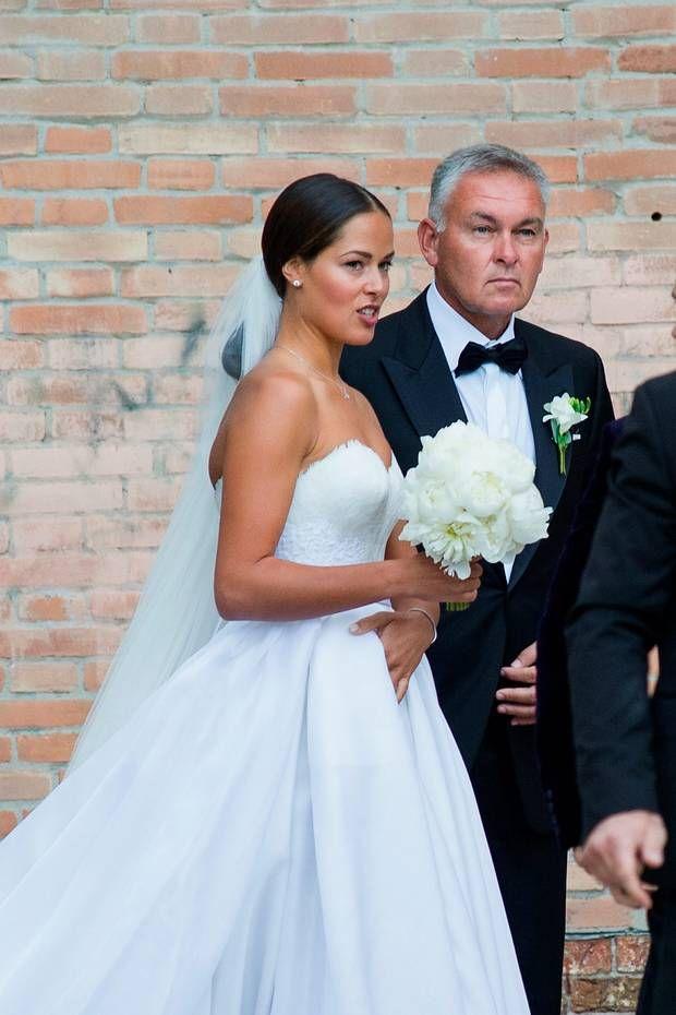 Ana ivanovic schweinsteiger wedding dress