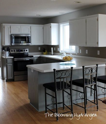 I love these colors! The color of the cabinets is Desert Twilight ...