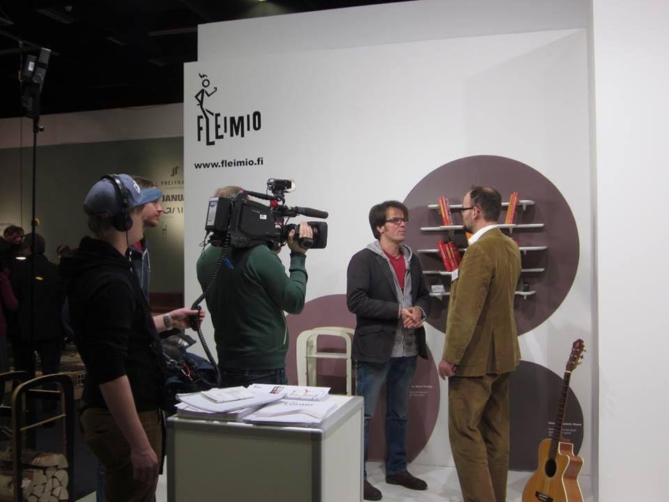 IMM Jan 2015: ZDF und de neueste Trends auf der Möbel Messe / Fleimio