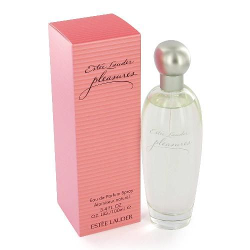 Estee Lauder Pleasures - beautiful light, lily of the valley-based fragrance. I always get compliments on this fragrance and you can get it really inexpensive at perfume.com; look at retailmenot.com for a coupon code first for an additional discount :)