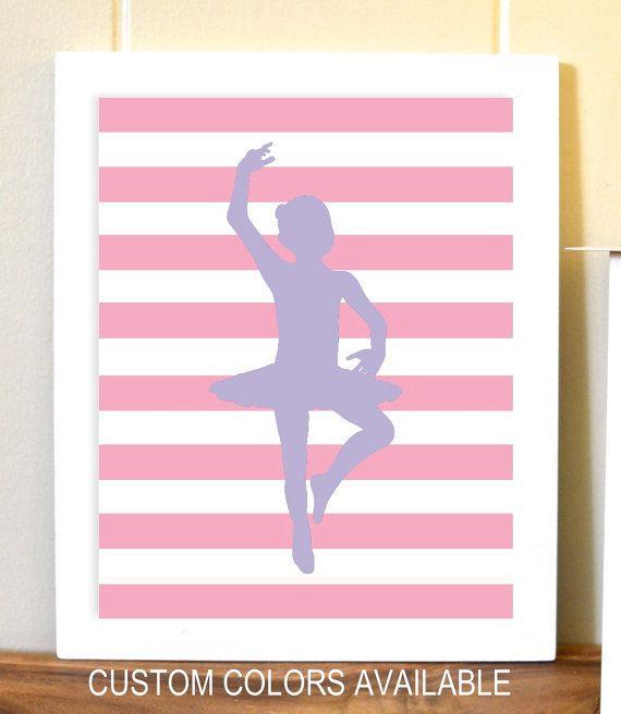 Ballerina Nursery Baby Girl Nurser Ballerina Dance Wall Etsy Ballerina Wall Art Dance Wall Art Girl Ballerina Room