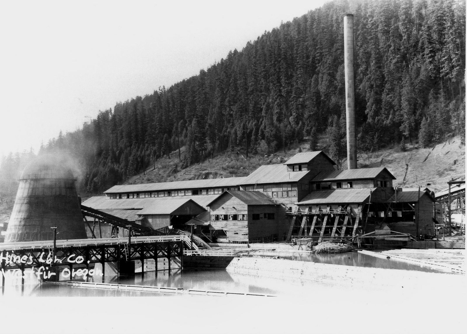 Westfir Oregon   Sawmills   Lumber mill, Log saw, Oregon