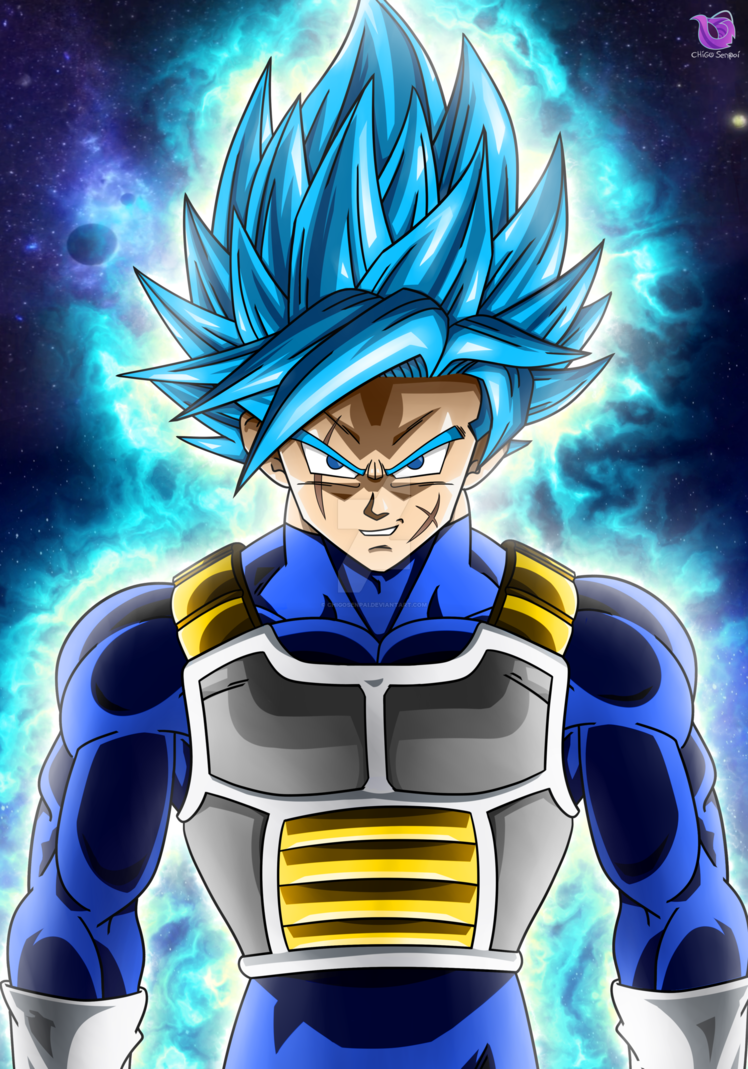 Commission Nasu Super Saiyan Blue! by ChigoSenpai